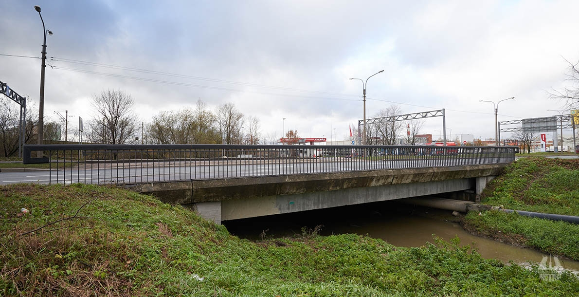 The Bridge in the alignment of Moskovskoye Highway