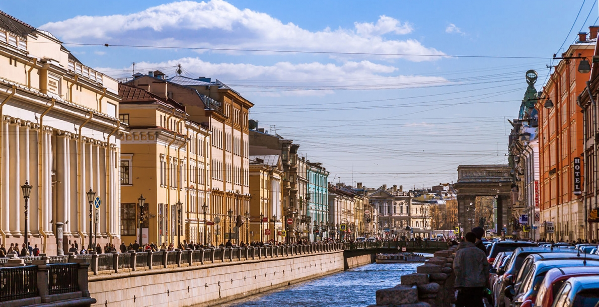 The Griboyedov Canal Embankment